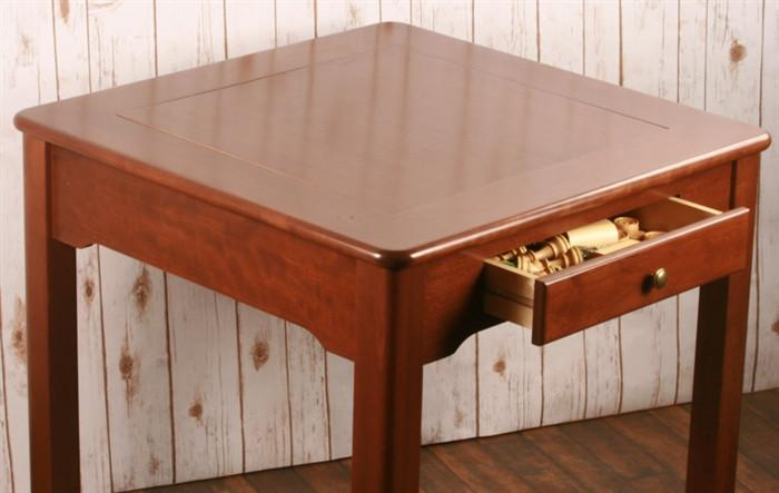 US Made Classic Game Table, Solid Cherry Wood   3 In 1   Table