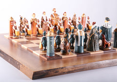Vintage Tudor Kings and Queens Studio Anne Carlton Chess Set - Chess Set - Chess-House