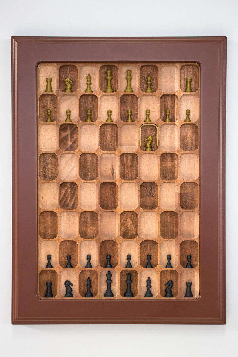 Wall Mounted Chess Board