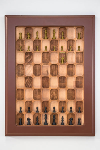 Wall Mounted Chess Board - Chess Set - Chess-House