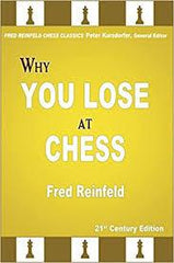Why You Lose at Chess - Reinfeld - Book - Chess-House