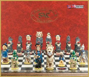 Wizard of Oz Chess Pieces - SAC Hand Painted