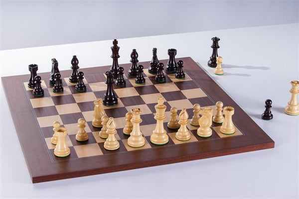 Wood Club Chess Combo Model 300 - Rosewood & Palisander - Chess Set - Chess-House
