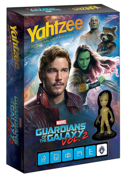 Yahtzee Dice Game - Guardians of the Galaxy Vol. 2 Edition Game