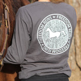 Graphite FR Line Stamp Long Sleeve