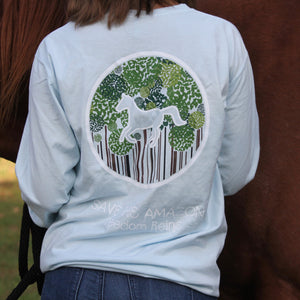 Pocketed Chambray Save the Amazon Long Sleeve