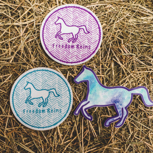 Freedom Reins Sticker Pack