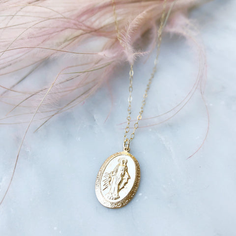 Mother Mary Femme Necklace