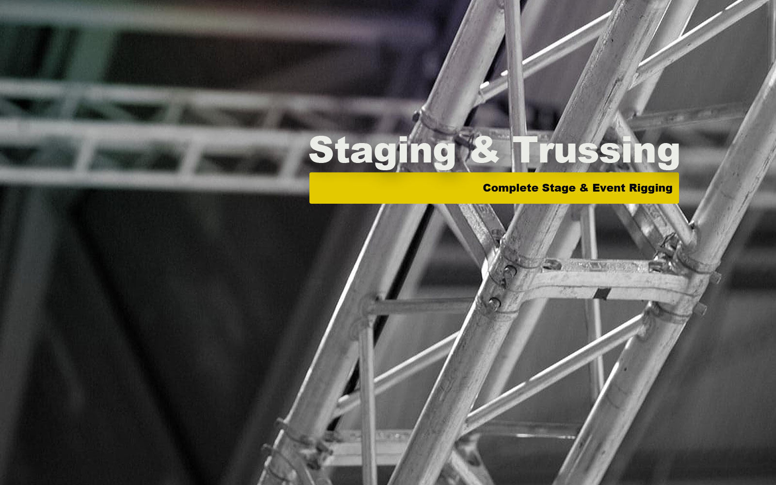 Staging & Trussing