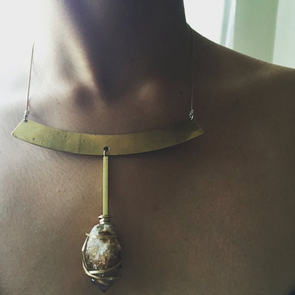 Spirit Quartz + Brass