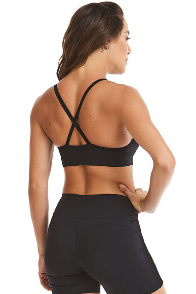 Black Handwork Sports Bra-IpanemaGirl