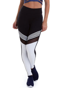 Black and White Mighty Tights-IpanemaGirl