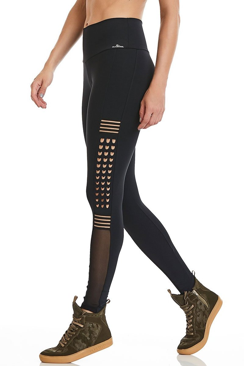 Black Dragon Spikes Leggings