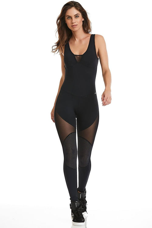 Black Charm Jumpsuit