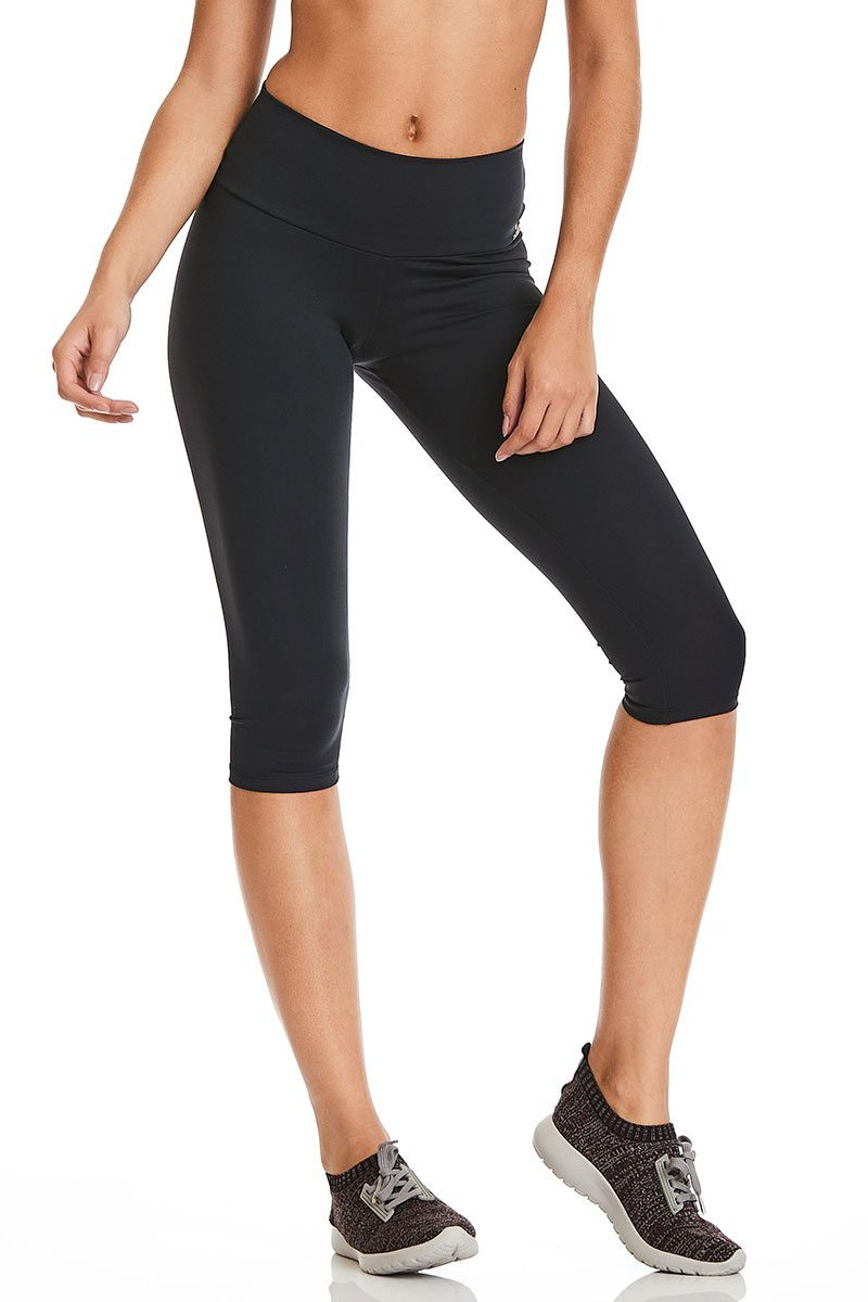 Black 3/4 Leggings-IpanemaGirl