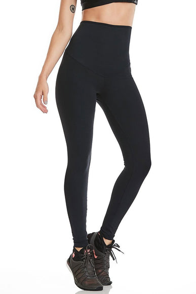 Black High Waist Leggings-IpanemaGirl