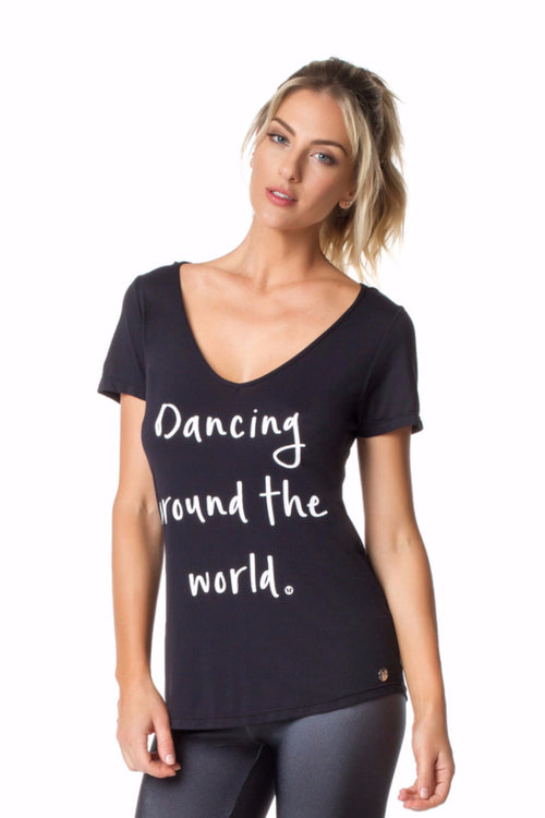 Black Dancing Top