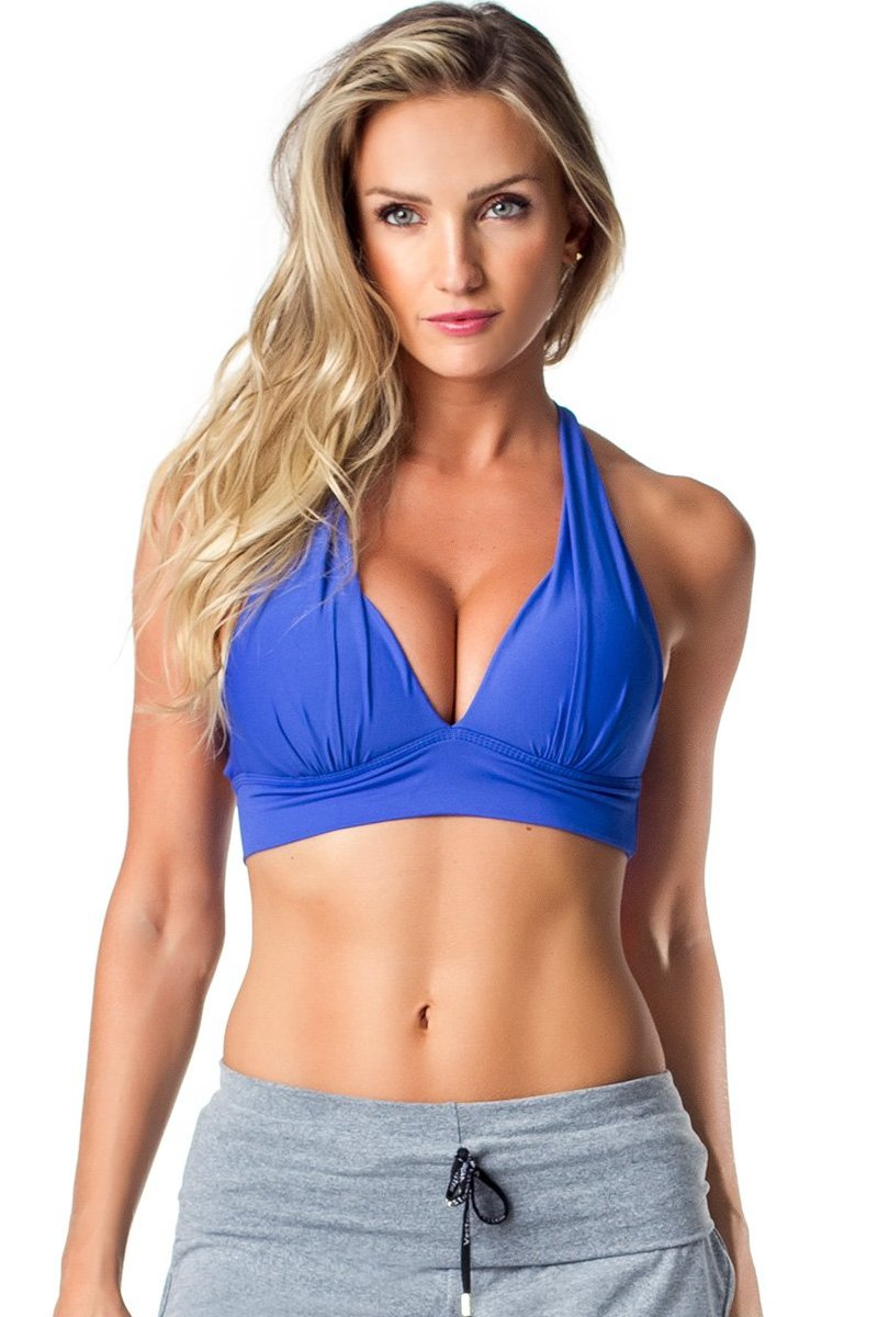 Dark Blue Way to Go Sport Bra