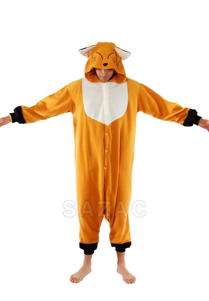 Japanese Fox Kigurumi Adult Onesie