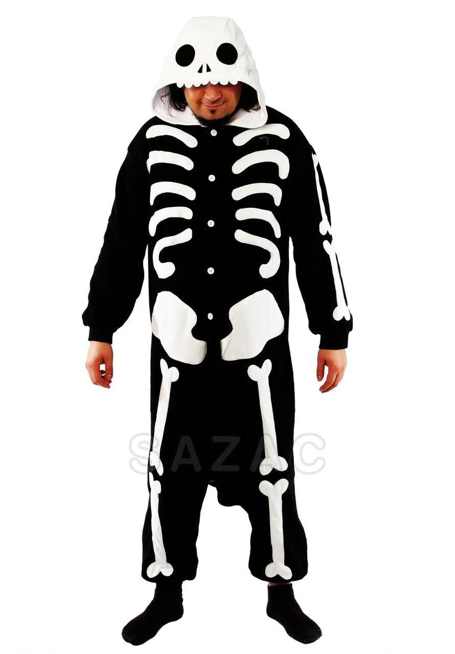 Skeleton Kigurumi Adult Onesie