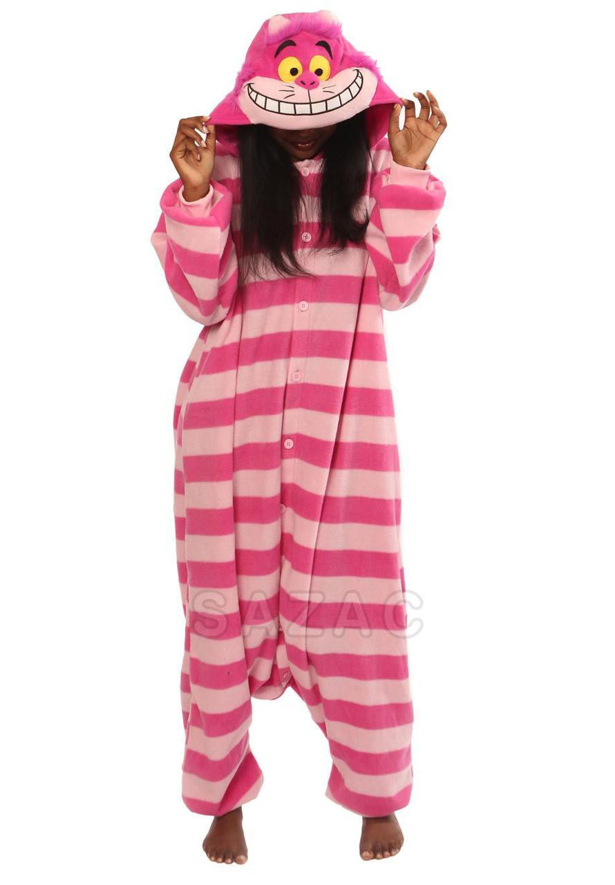 Cheshire Cat Kigurumi Adult Onesie