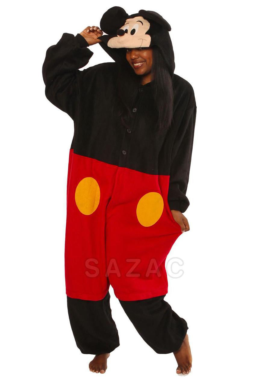 Mickey Mouse Kigurumi Adult Onesie