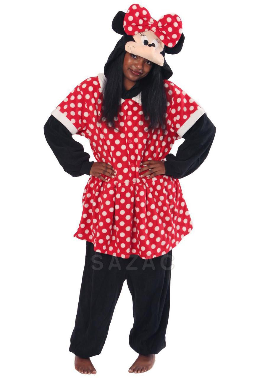 Minnie Mouse Kigurumi Adult Onesie