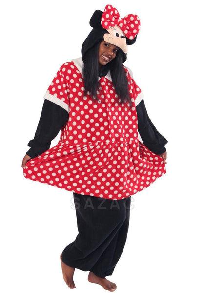 a815352da7 Minnie Mouse Kigurumi Adult Onesie