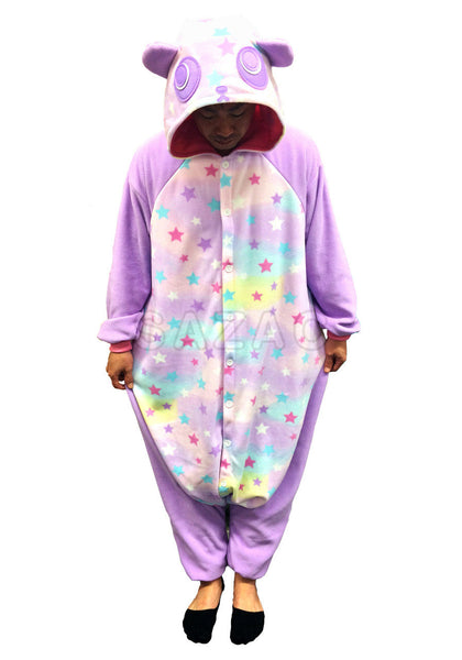 0aa91c5b2b Dream Star Panda Kigurumi Adult Onesie