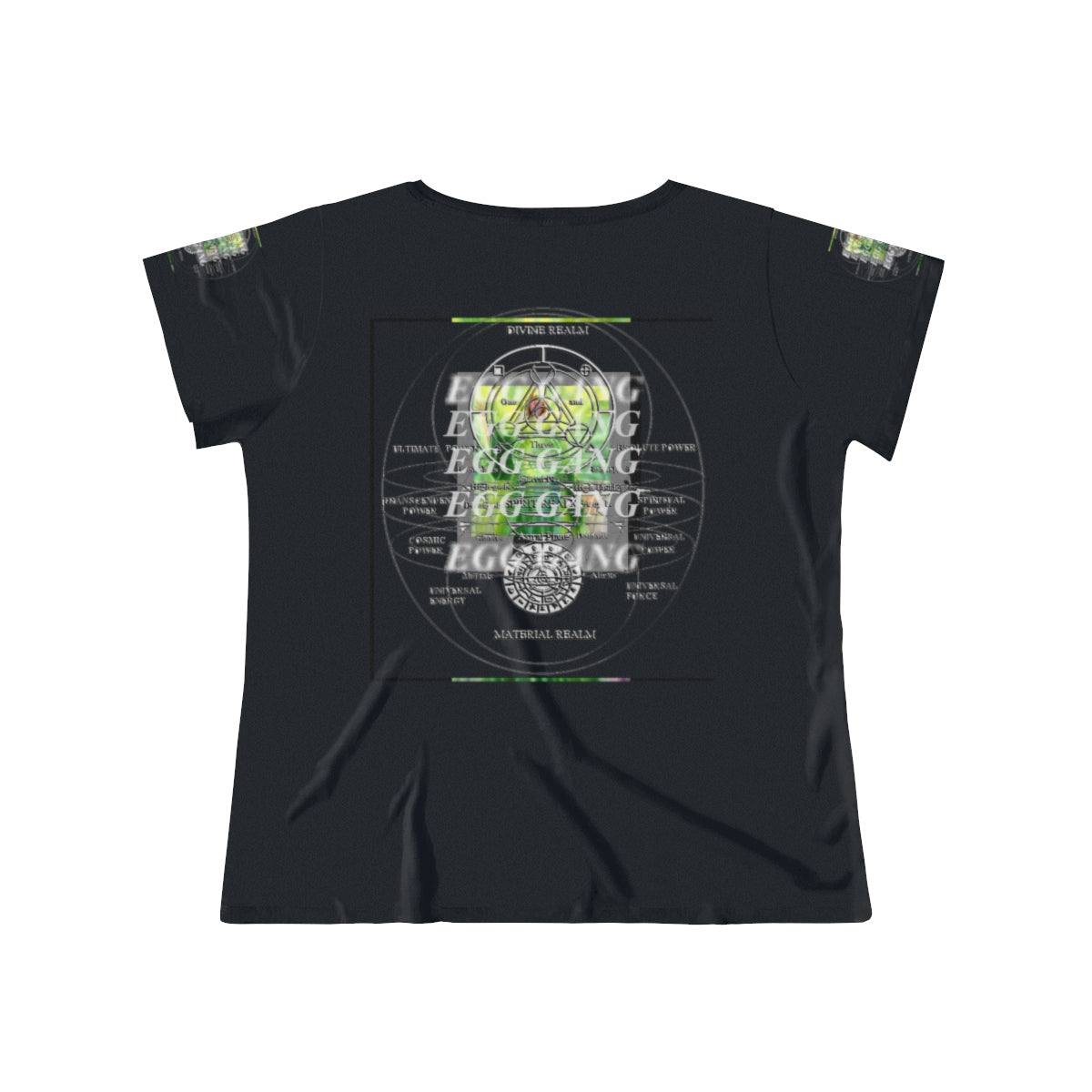 Women's Green ArchEgg T-Shirt