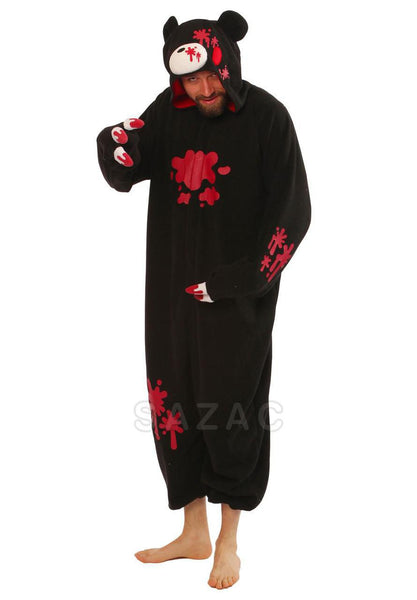 076e1ff64d Black Gloomy Bear Kigurumi Adult Onesie