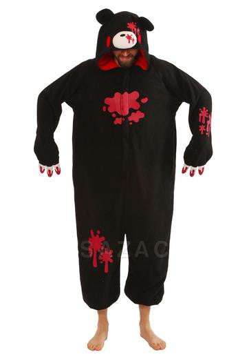 Black Gloomy Bear Kigurumi Adult Onesie