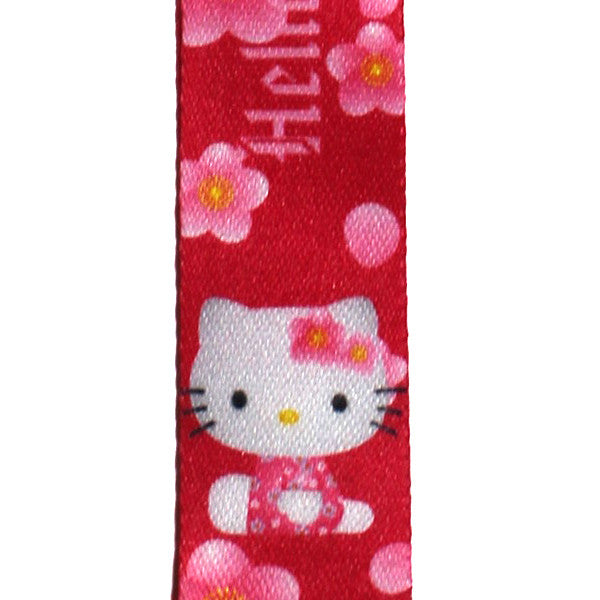 Hello Kitty Lanyard Red Aloha Version
