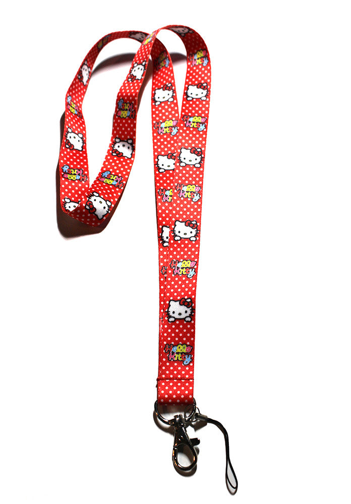 Hello Kitty Lanyard Red Ladybug Version