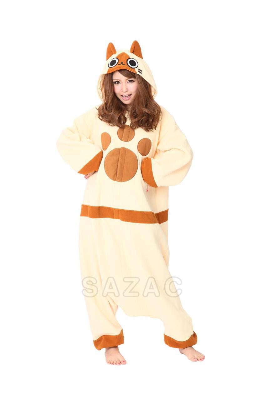 Monster Hunter Airou Kigurumi Adult Onesie