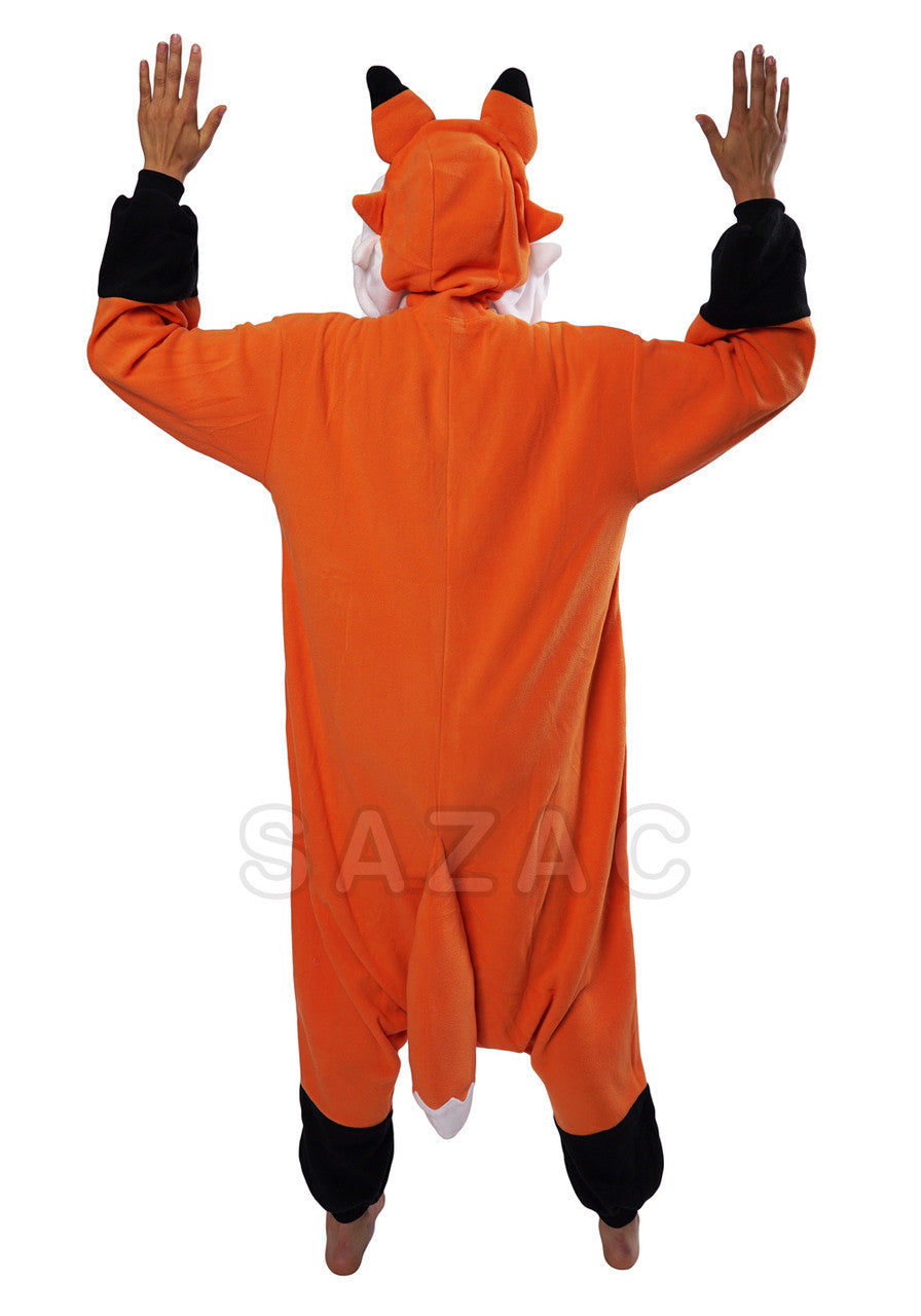 Red Fox Kigurumi Adult Onesie