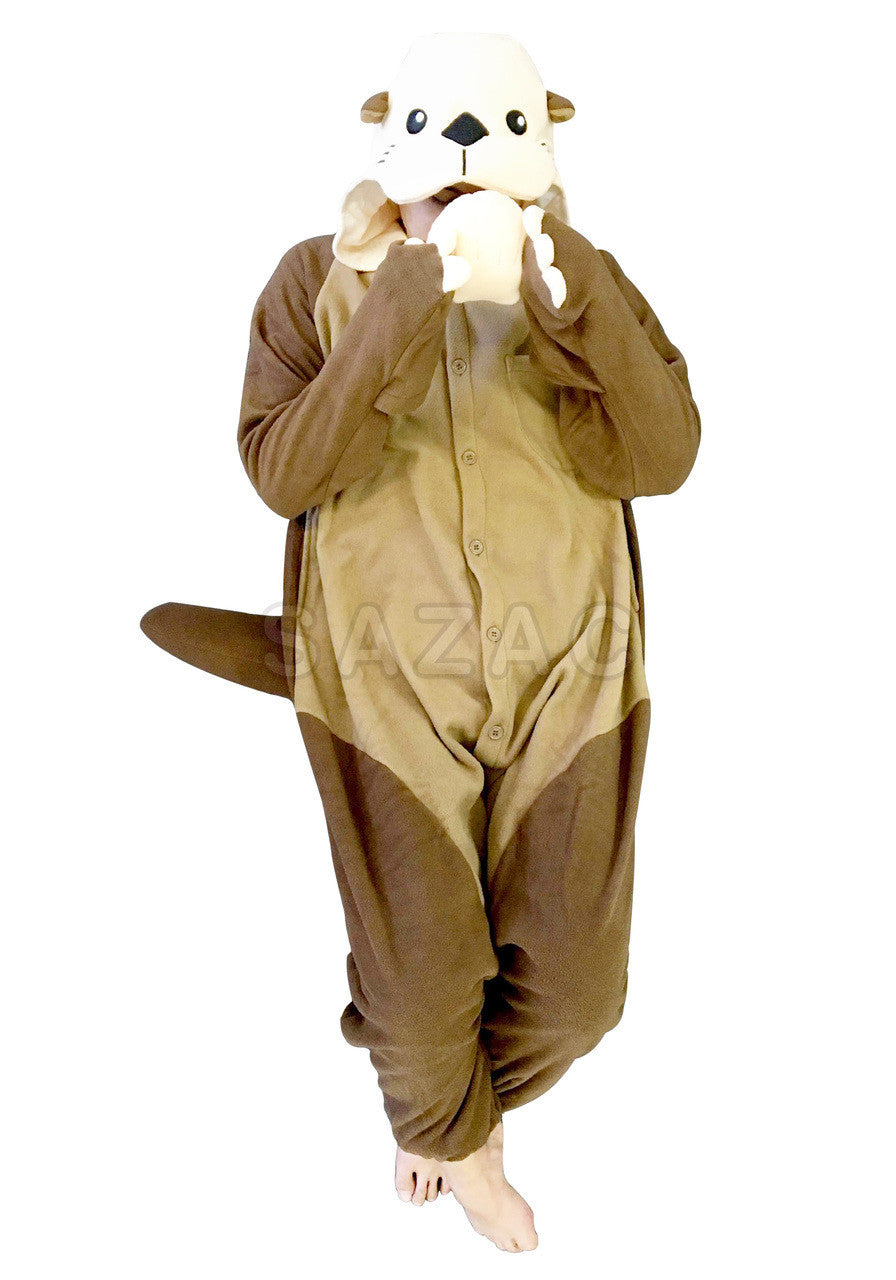 Otter onesie for adults