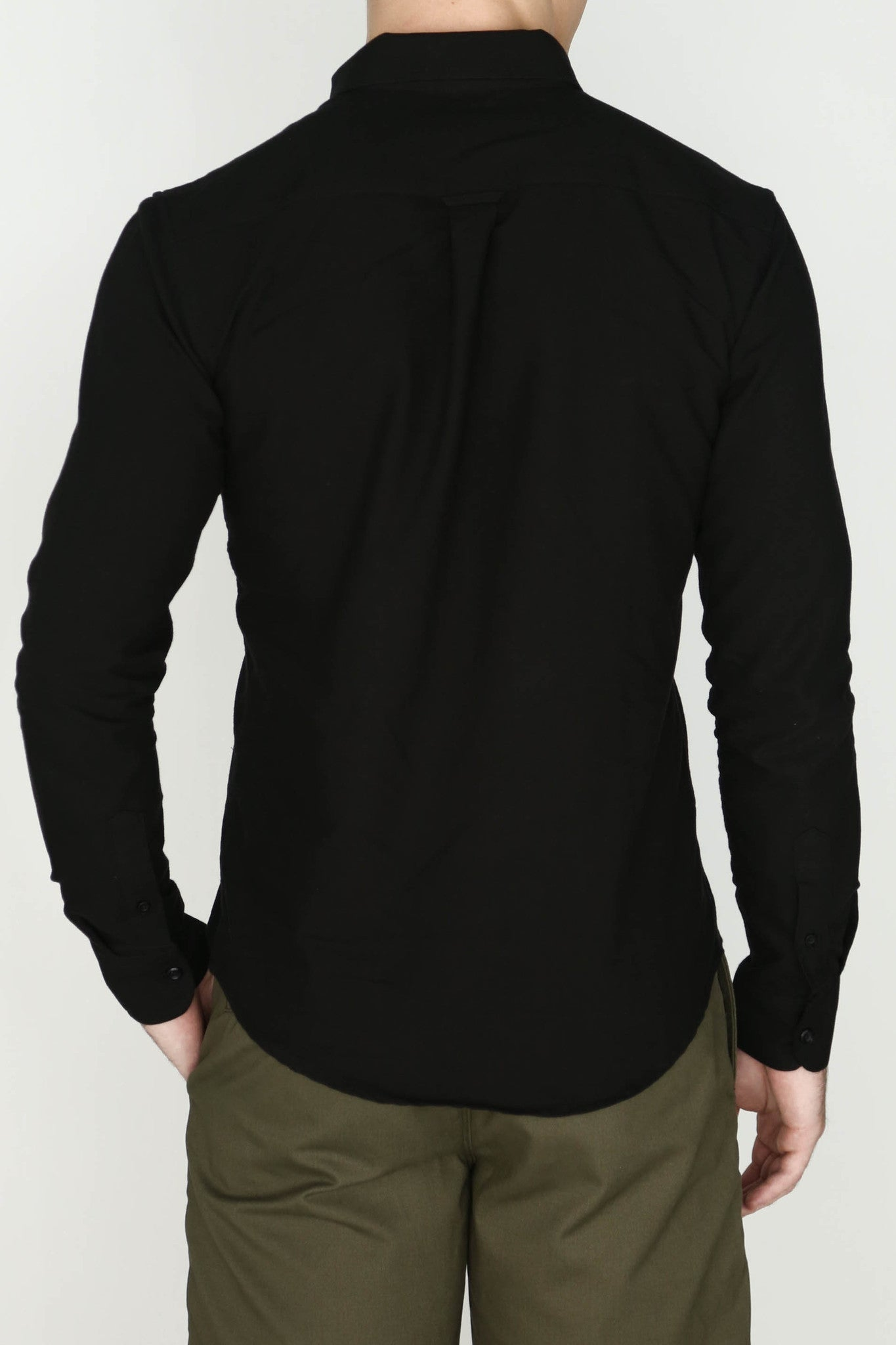 M's Lightweight Oxford Shirt (Black)