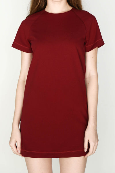 W's Shift Dress (Wine)