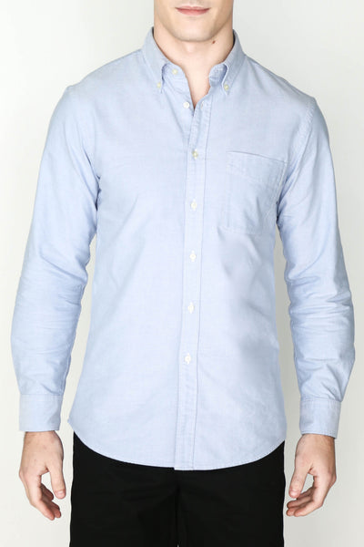 M's Lightweight Oxford Shirt (Light Blue)