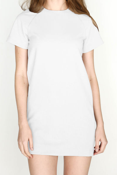 W's Shift Dress (White)