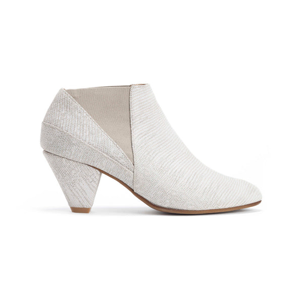 Cream Ankle Boots - Annabelle