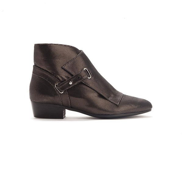 Fold-over Ankle Boots - Cara