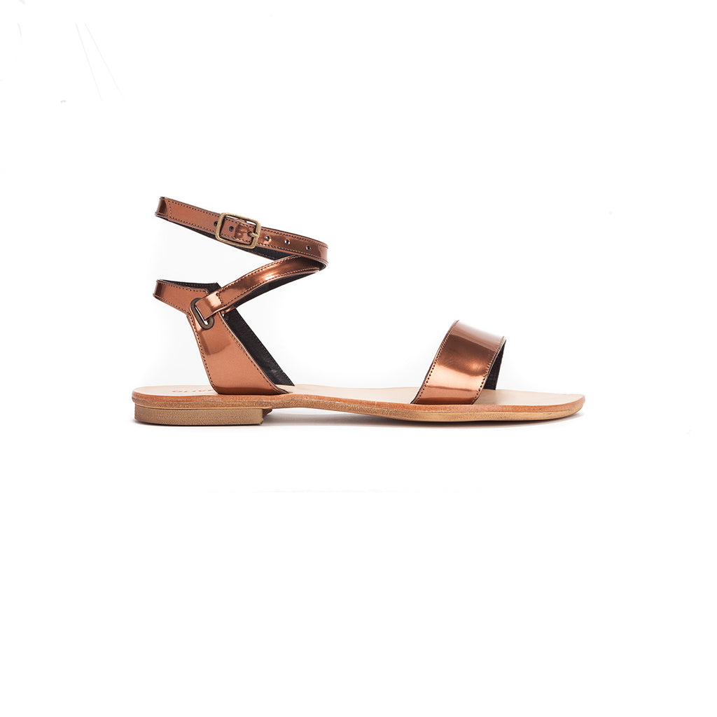Ellie - Metallic Summer Sandals