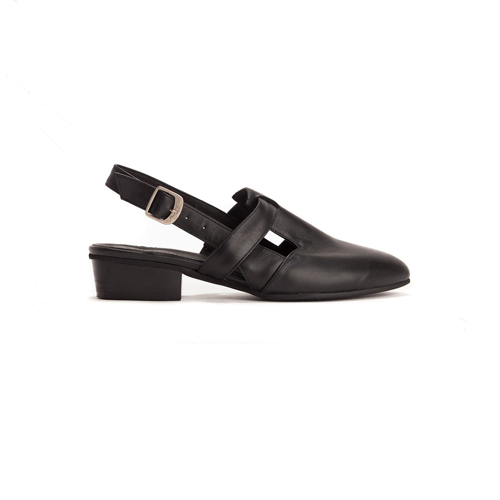 Francis - Low-Heel Slingbacks