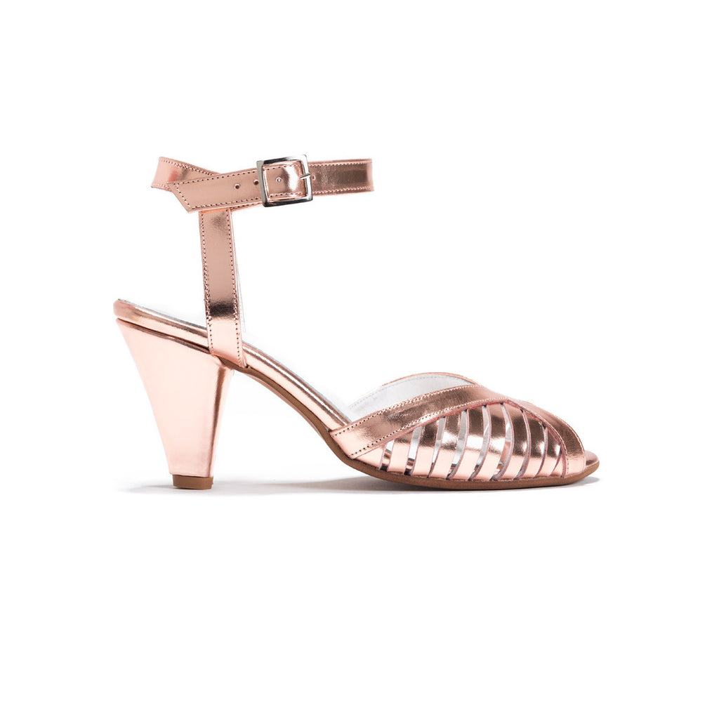 Elegant Heeled Sandals - Melanie