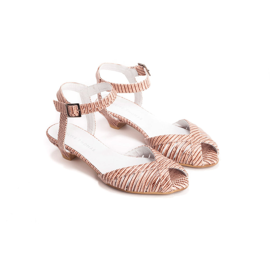 Cut Out Strappy Sandals - Melanie
