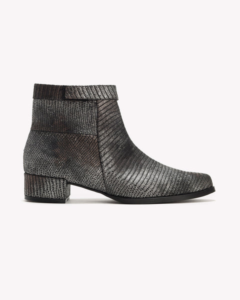 Mila - Leather Ankle Boots
