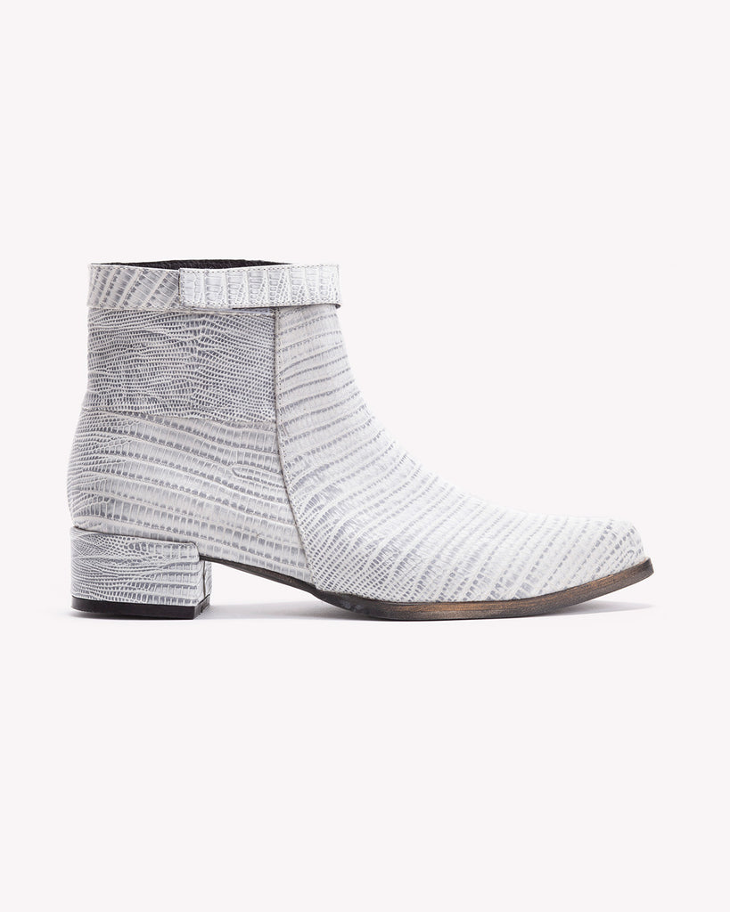 Mila - Snake Print Boots