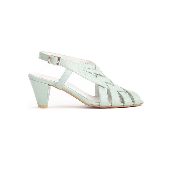 Mid Heel Summer Sandals - Saidy High